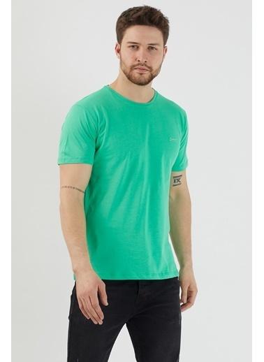 Slazenger Slazenger SANDER Erkek T-Shirt  Yeşil